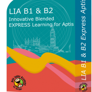 Examen Aptis - LIA B1 & B2 - Innovative Blended · EXPRESS Learning for Aptis