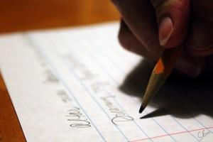 prueba writing del examen Aptis